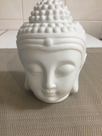 Queimador Buda de cor branca Novo