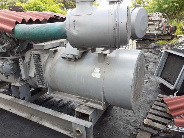 Prądnica 3 fazy 300 320 kw 400 kva Typ A 355 577 Amp 50 HZ Czeska Nowa