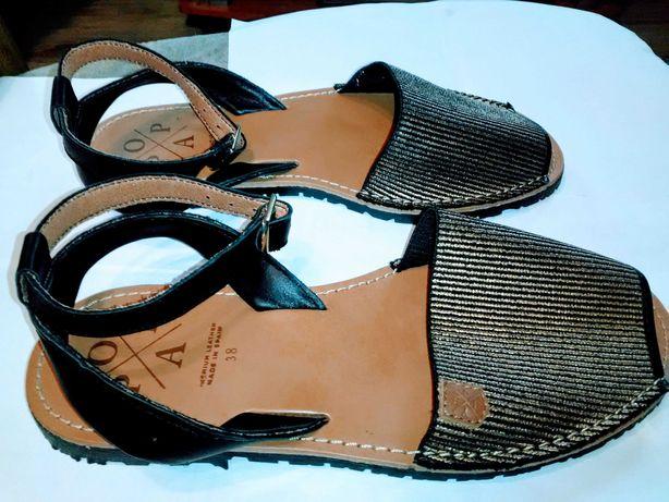 Sandały damskie hiszpańskie nowe kupione w Hiszpanii