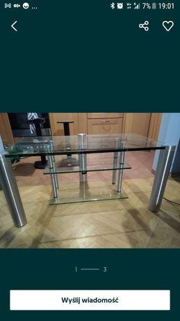 Sprzedam stolik pod telewizor szklany