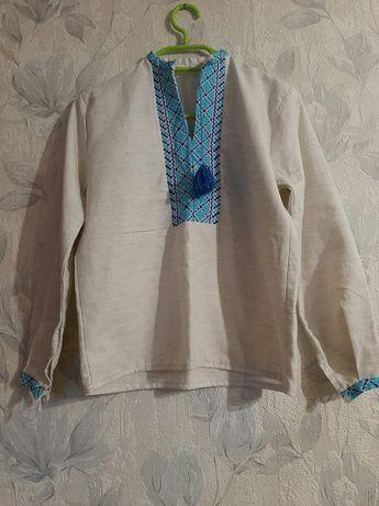 Вышиванка, вышитая рубашка, 10-11 лет