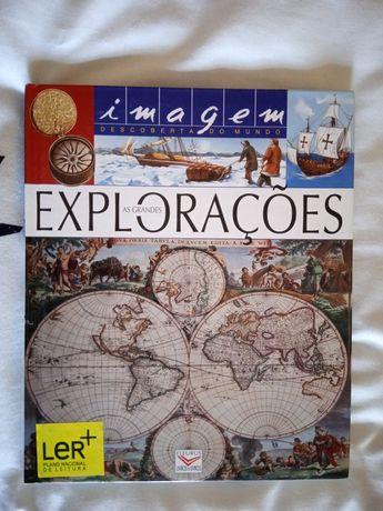 As grandes explorações + puzzle