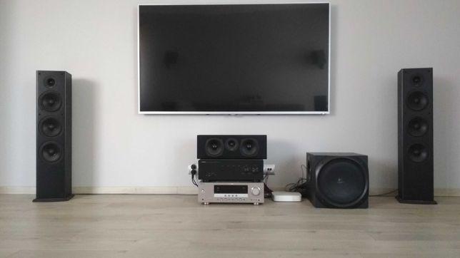 kino domowe 5.1 polk audio t531 + sub. logitech z5500 + yamaha rx-v463