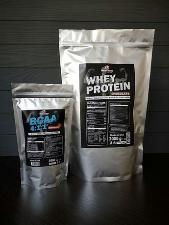 АКЦИЯ! Протеин 2 кг+ВСАА (USA)