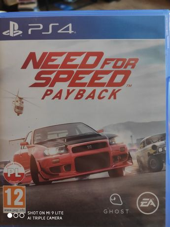 Need for speed: Payback gra na ps4