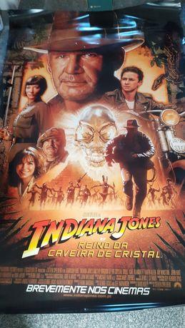 Poster ,Cartaz de cinema Indiana Jones