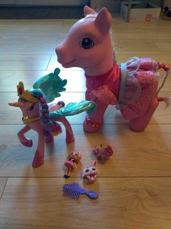 Pony celestia mowiaca po polsku duży lala loopsi pet shop