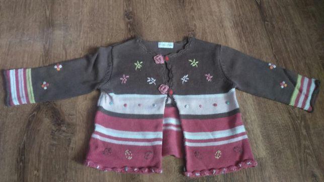 Sweterek firmy Mamas&Papas, rozmiar 12-18 mc