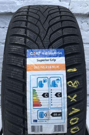 205/55R16 CEAT WinterDrive Opony Nowe Zima Bardo Ciche 69db