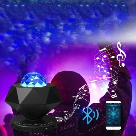 Lampka Projektor Gwiazd DWU-LASEROWY