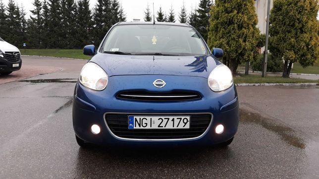 Nissan Micra 2012 rok 1.2Kat 80KW.PRYWATNIE.Bogata opcja.Doinwestowana
