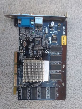 Видеокарта GEFORCE 4 MX 400 64 MB.