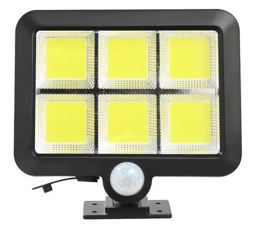 LAMPA SOLARNA z czujnikiem ruchu i zmierzchu 120 LED