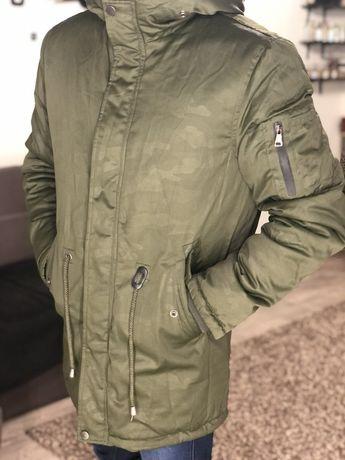 Куртка камуфляж зимняя