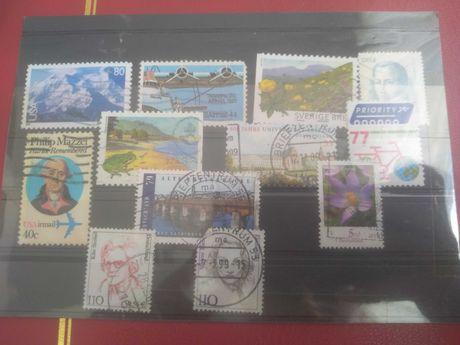Znaczki pocztowe bloczek
