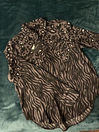 Koszula w panterkę i zebrę Vero Moda