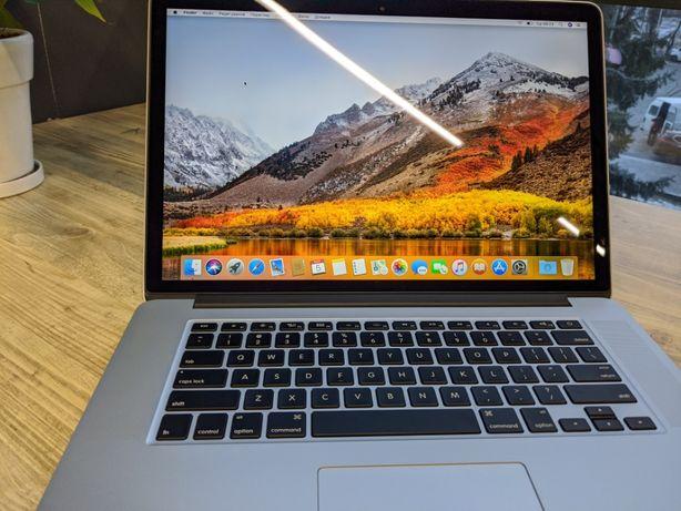 """2015 MacBook Pro 15"""" Retina i7 2.5GHz 16GB 512GB SSD 0 циклів ІДЕАЛ"""