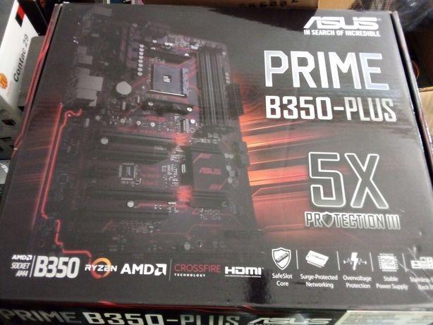 Motherboard Asus Prime B350-Plus (AM4)