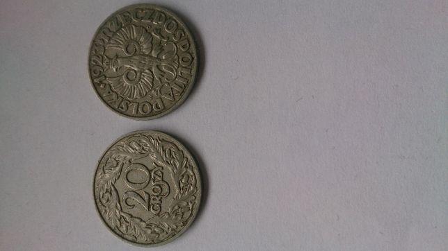 Sprzedam monety kolekcjonerskie o nominale 20 gr z1923 r