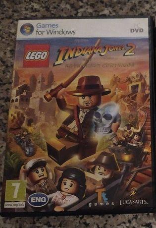 PC DVD ROM gra LEGO Indiana Jones 2