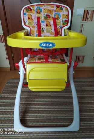 Складной стульчик для кормления Seca Laptop