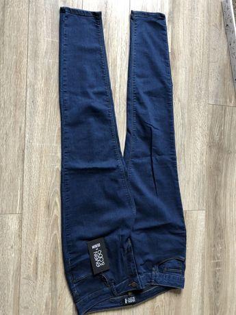Nowe jeansy spodnie Even&Odd r. XL, rozciągliwe