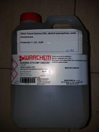Płyn do dezynfekcji 2l etanol+alkohol izopropylowy Warchem