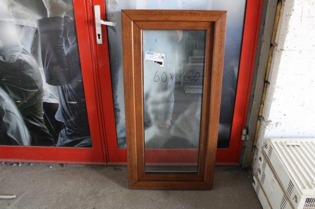 okno pcv złoty dąb 60x110 nowe tania wysyłka