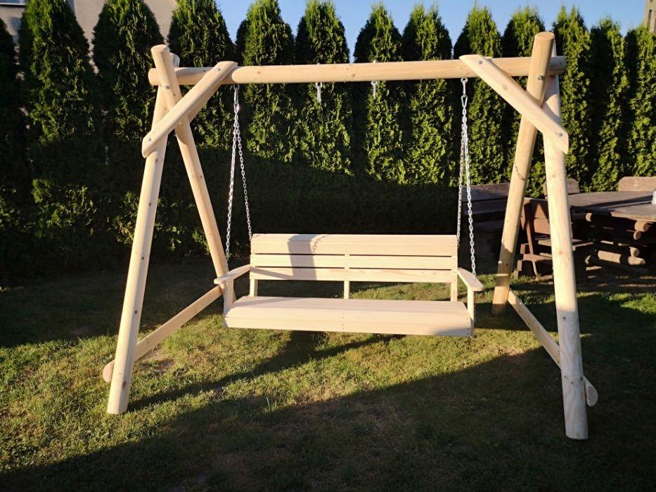 Meble ogrodowe, plac zabaw, huśtawka,stół ławki. Chojnice - image 1
