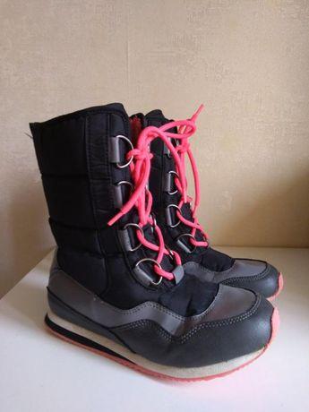 Высокие деми ботинки, сапоги, 21-21.5 см
