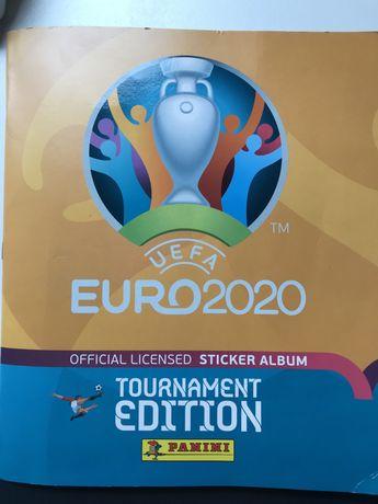 Cromos caderneta Euro 2020