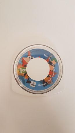 Phineas & Ferb através da segunda dimensão para a PSP