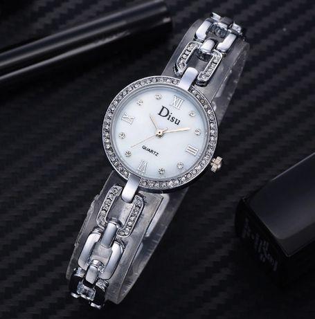 Женские элегантные часы со стразами Disu (Разные цвета)