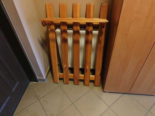 Wieszak drewniany