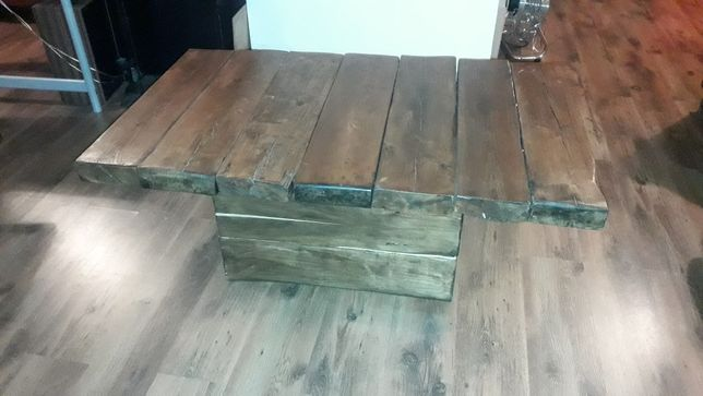Stół ława LOFT Stare drewno