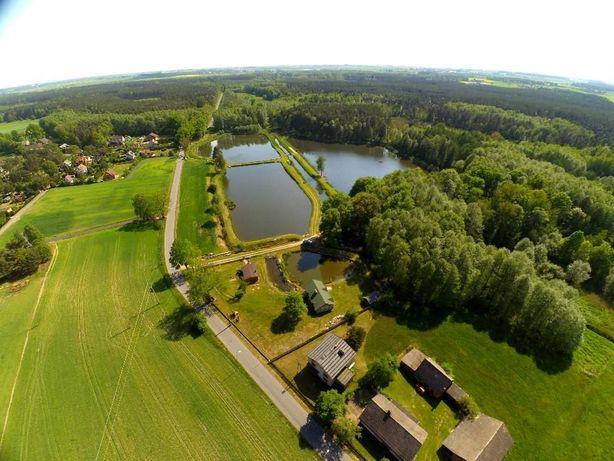 Agroturystyka Pawełki - domki nad stawami piękna okolica