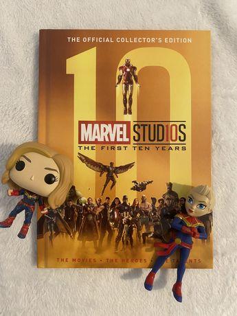 Marvel Studios - The First Ten Years + Figuras Captain Marvel