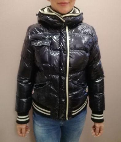 Куртка темно-синяя Moncler