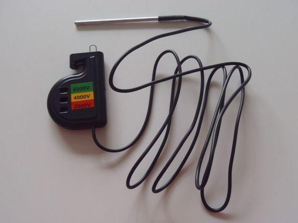 Miernik Tester Wskaźnik napięcia 3-zakresowy Próbnik Pastuch Elektrycz