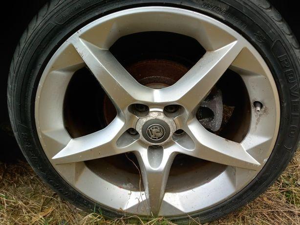 Alufelgi Felgi R18 Gwiazdy Ronal Opel 5x110 z oponami