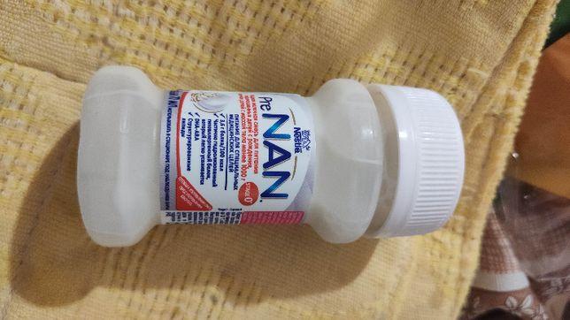 Жидкая молочная смесь Nestle Pre NAN 70 мл 10 банок
