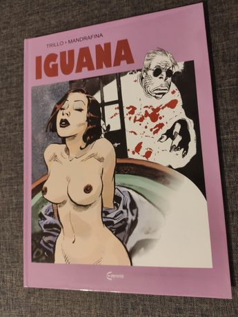Iguana komiks nowy okładka limitowana