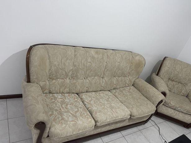 Sofa + 2 poltronas