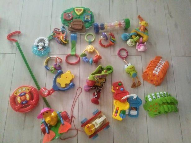 Zabawki w tym interaktywne zestaw ponad 15 szt.