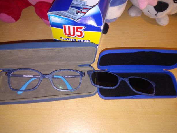 Okulary solano plus nasadki przeciwsloneczne