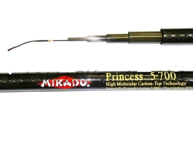 Маховая удочка без колец Mikado Princess 4м/5м/6м (10-30г)