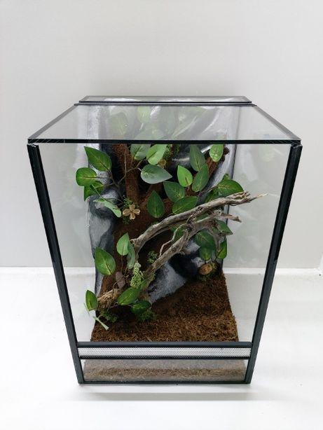 Terrarium AquaWaves nr.kat. TW04KT (wąż, kameleon, gekon orzęsiony)