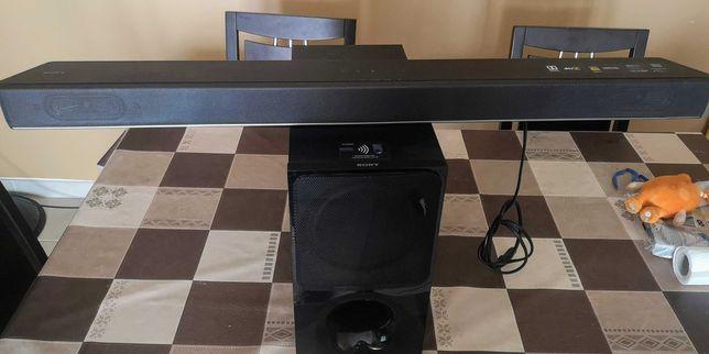 Soundbar SONY HTXF9000 (2.1 - 300 W - Subwoofer Sem Fios)