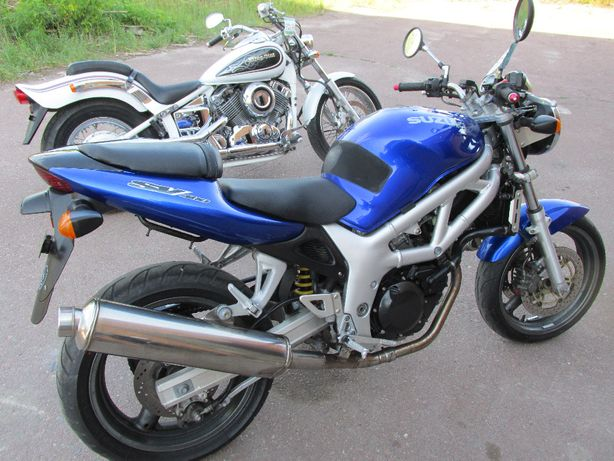 Мотоцикл SUZUKI SV400 без пробега по Украине.Склад
