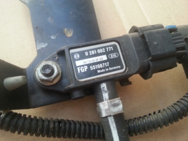 czujnik ciśnienia spalin DPF map sensor BOSCH 02810.02771 vectra c sig